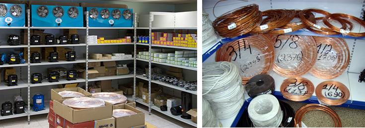 комплектующие и запчасти для холодильного оборудования2
